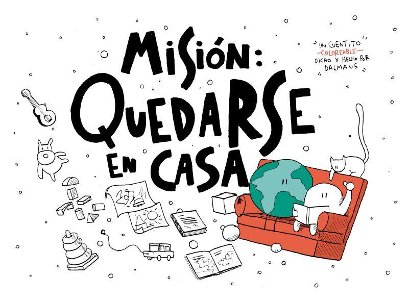MISION QUEDATE EN CASA